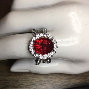 Large Cocktail Ring Size 8